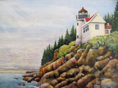 Bass Harbor Head Light - Maine - L