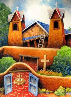 Chimayo - Blue Roof