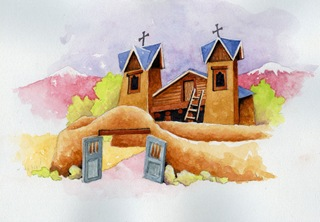 Chimayo Mini Painting 5-10