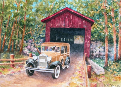 Covered Bridge Memories - Indiana - C