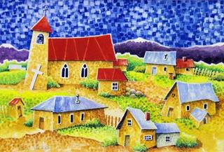 New Mexico Village - Joan Close 2