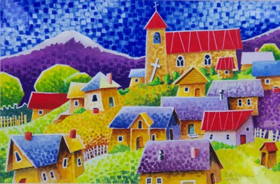 New Mexico Village - Joan Close