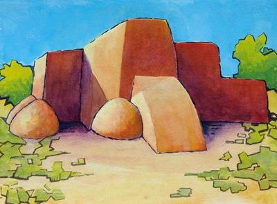 Ranchos de Taos - A