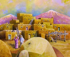 Taos Pueblo Mini Series II
