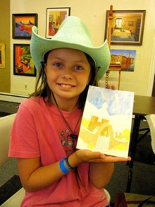 Jasmine's Painting