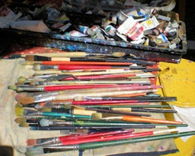 Paint Brushes - B