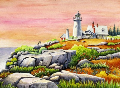 Pemaquid Point LIght - For Blog