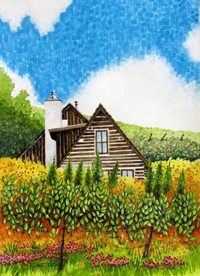 Washington Gulch Log Home - For Blog