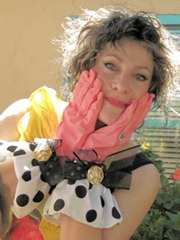LaVerne with Gloves - B