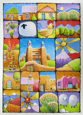 New Mexico Quilt Grande - B