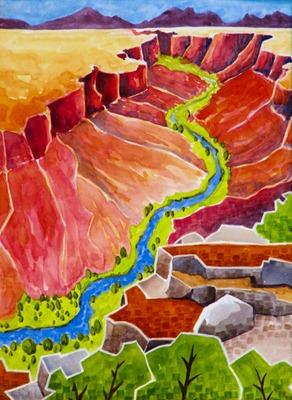 Rio Pueblo Canyon - AR