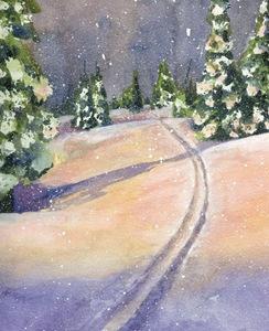 Ski Tracks - P